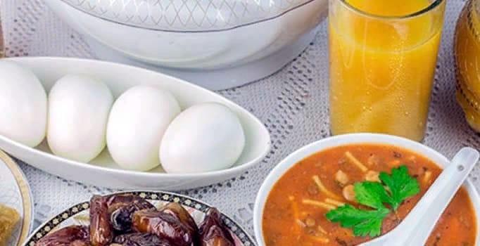 Ramazan'da nasıl beslenmeliyiz